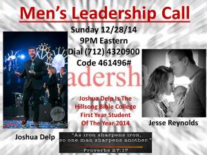 Men'sLeadershipCall